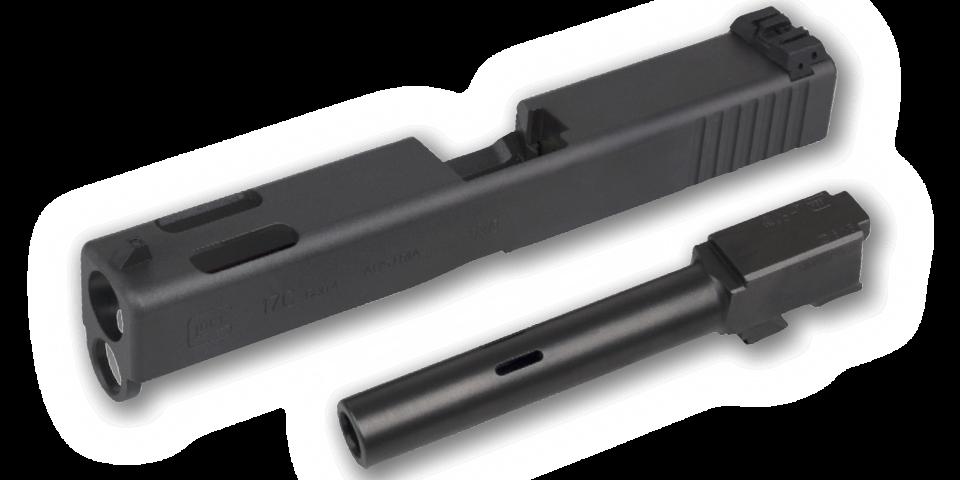 Glock 17C Gen4 (Kompensatorlauf) 9mm Luger Pistole